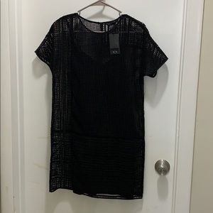 Armani Exchange netted dress.